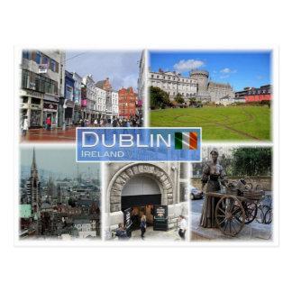 IE Ireland - Dublin - Postcard