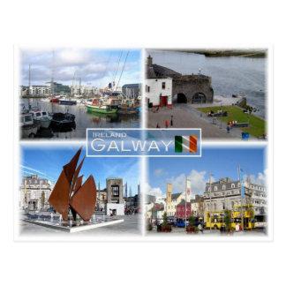 IE Ireland - Galway - Postcard