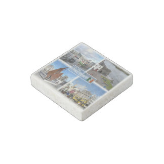 IE Ireland - Galway - Spanish Arch - Stone Magnet