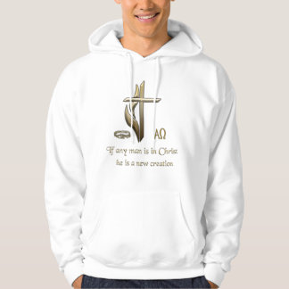 If any man is in Christ he is a new creation Hoodie