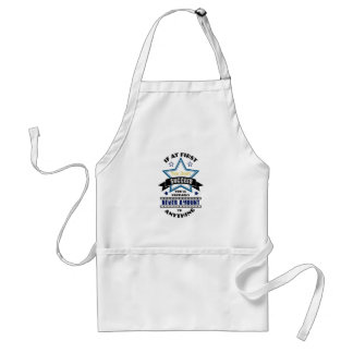 If At First You Don't Succeed Standard Apron