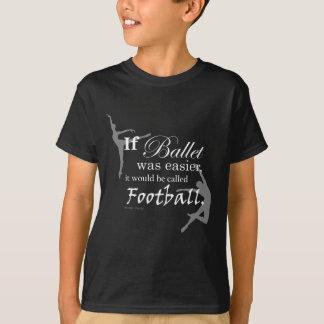 If ballet was... Kids Dark T-shirt
