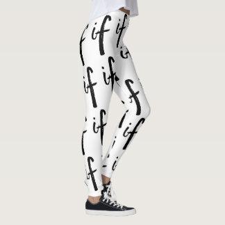 If - Design Leggings
