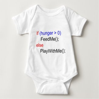 if...else baby bodysuit