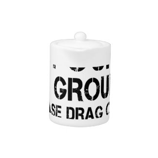 If Found On Ground Please Drag Over Finish Line