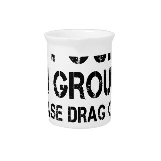 If Found On Ground Please Drag Over Finish Line Pitcher