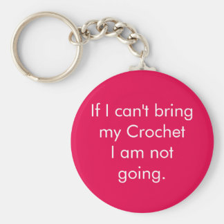 If I can't bring my crochet... Key Ring