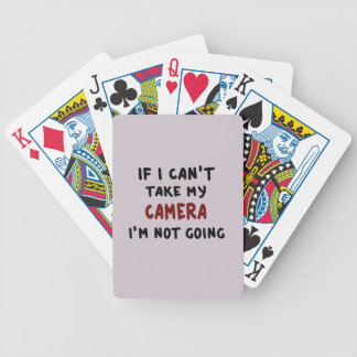 If I can't take my camera... Bicycle Playing Cards
