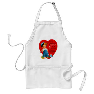 If I Could Catch Your Heart Standard Apron