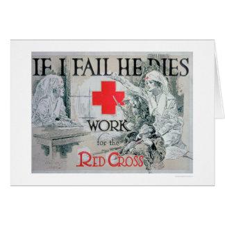 If I Fail He Dies (US00150) Greeting Card