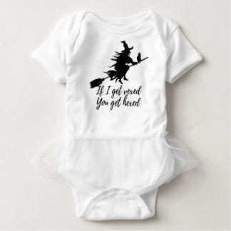 If I get vexed, you get hexed Baby Bodysuit