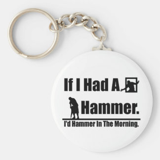 If I had a hammer Key Ring