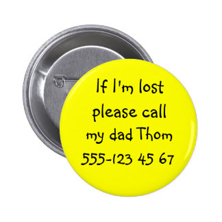 IF I M LOST Button