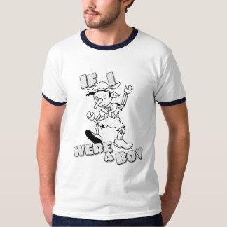 If I Were A Boy T-Shirt