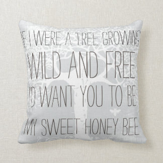 If I Were a Tree Growing Wild and Free Pillows