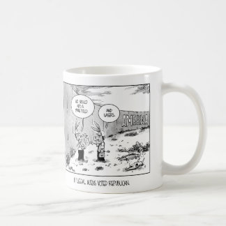 If Illegal Aliens Vote Republican Coffee Mug
