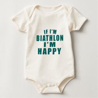 IF I'M BIATHLON I'M HAPPY BABY BODYSUIT