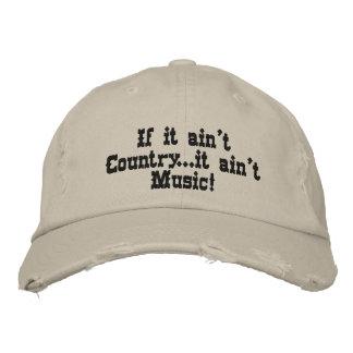 If it ain't Country...it ain't Music! Baseball Cap