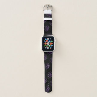If it is Sparkly and Purple I want it | Black Apple Watch Band