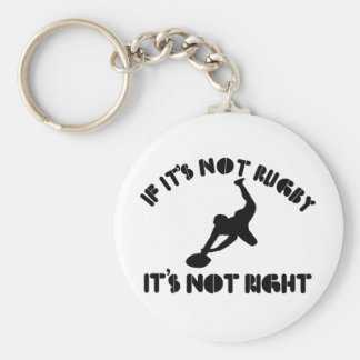 If it's not rugby it's not right key ring