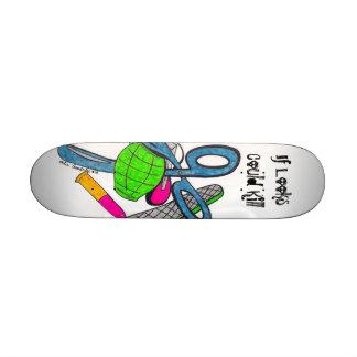 If Looks could Kill Skateboard Decks