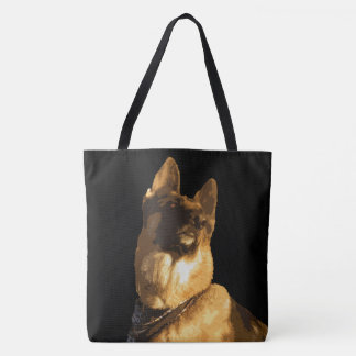 If My German Shepherd Ain't Happy Nobody's Happy Tote Bag