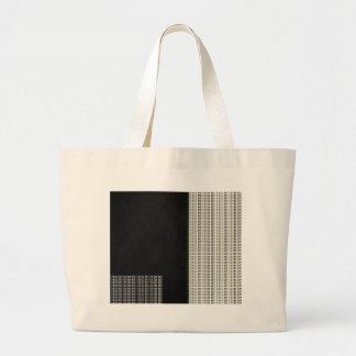 If Not Us, Who? Quote Large Tote Bag