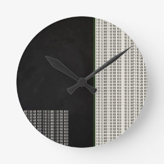 If Not Us, Who? Quote Round Clock