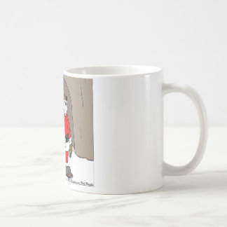 If Santa Clause The Bear Fun Christmas Gifts Tees Basic White Mug