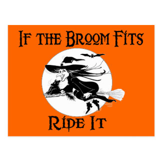 If the Broom Fits Postcards