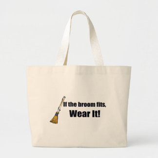 If The Broom Fits T-shirts Gifts Canvas Bags