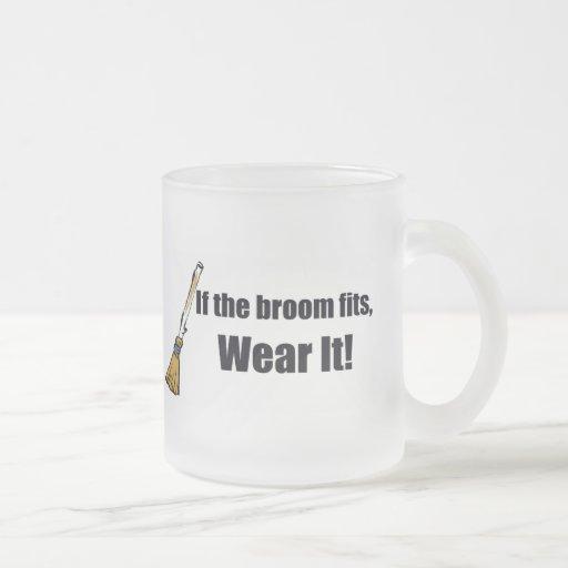 If The Broom Fits T-shirts Gifts Coffee Mug