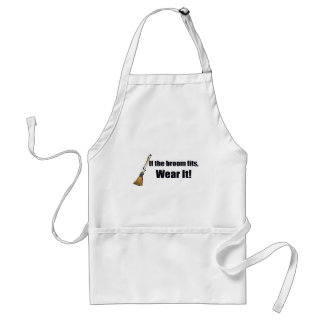 If The Broom Fits T-shirts Gifts Standard Apron