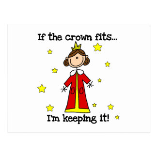 If the Crown Fits Postcard