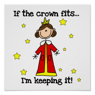 If the Crown Fits Poster