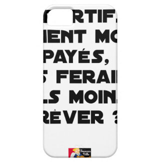 IF THE SPORTSMEN WERE PAID, US FERAIEN BARELY THERE iPhone 5 CASE