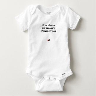 If the Success is brilliant, the failure is matt Baby Onesie