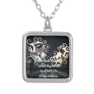 If These Walls Could Talk Necklace Pendant