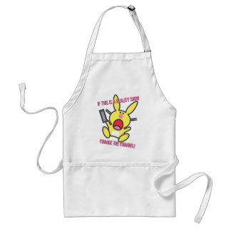 If This is a Reality Show Adult Apron