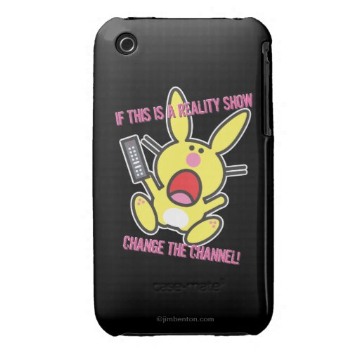 If This is a Reality Show iPhone 3 Case