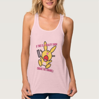 If This is a Reality Show Flowy Racerback Tank Top