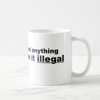 If voting changed anything coffee mug