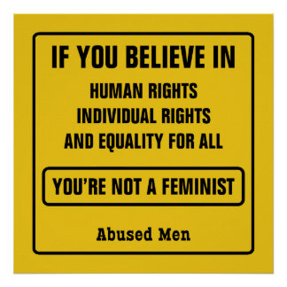 If You Believe In Human Rights … Poster