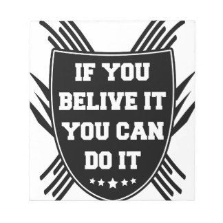 If you belive it you can do it notepad