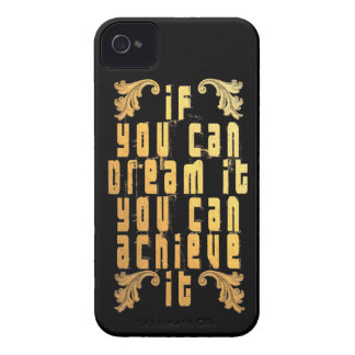 If you can dream it you can achieve it iPhone 4 cover