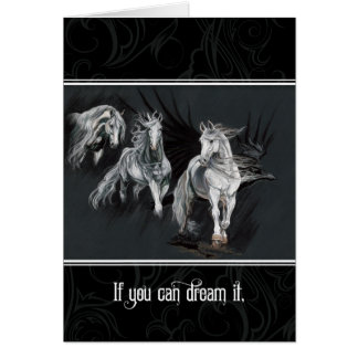 If you can dream it, you can do it. card