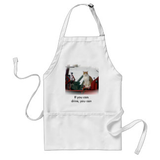 If you can drive, you can cook. standard apron