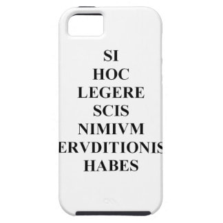 If You Can Read This Latin Skin iPhone 5 Covers