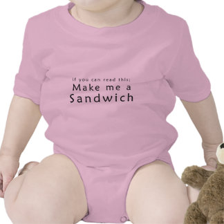 If You Can Read This Make Me A Sandwich Romper