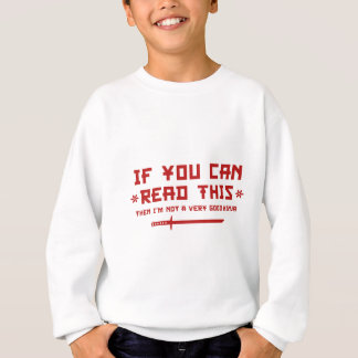 If You Can Read This Sweatshirt